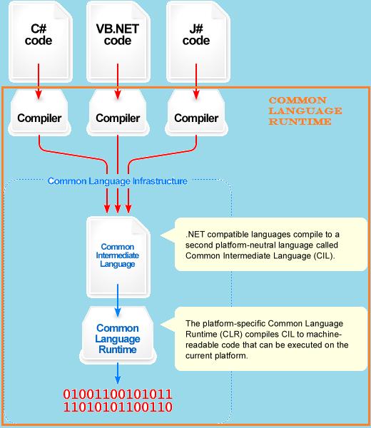 Environment of .NET Runtime.